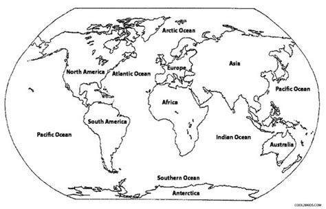 Get This Online World Map Coloring Pages For Kids Sz5em