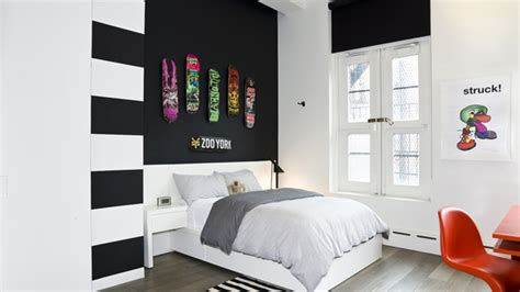 Black And White Bedroom Wall Design by 20 Beautiful Black Accent Walls In Different Bedrooms