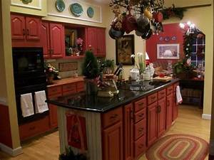 red cabinets 1198
