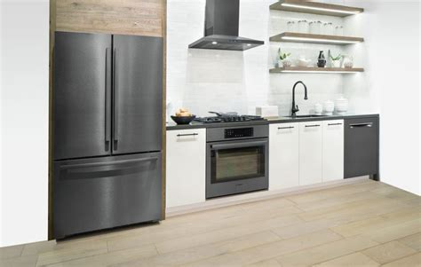reasons    black stainless steel kitchen set