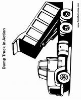 Dump Truck Coloring Printable Trucks Clipart Clip Cliparts Printables Library Printactivities Lifted Spy Dots Attribution Forget Link Don Arts Coloringtop sketch template