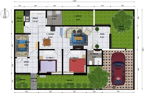 desain  rumah sederhana  kamar