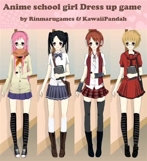 Anime Dressup Anime School Dress Up By Rinmaru On Deviantart