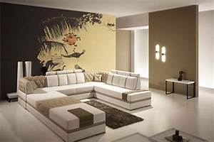 Modern interior decorating ideas large art prints for