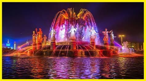 Review Beautiful Fountain In Moscow City The World