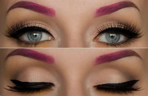 Coloring Eyebrows by How To Colored Ombre Eyebrow Tutorial Lashes