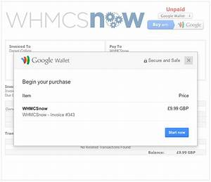 whmcsnow google wallet payment gateway google wallet With google wallet send invoice