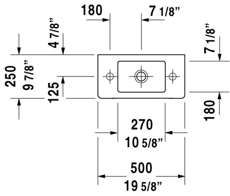 duravit vero sink sizes vero furniture handrinse basin 070350 duravit