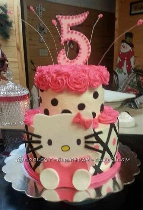 coolest  kitty  birthday cake