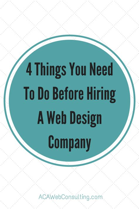 Hiring A Web Consulting Company  What You Need To Know