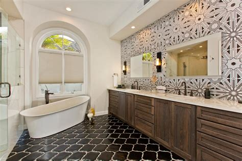 black white and silver bathroom ideas master bathrooms hgtv