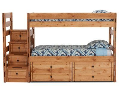 durango bunk bed   storage drawers  steps