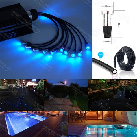 16w Rgb Led Underwater Fountain Light Swimming Pool Pond