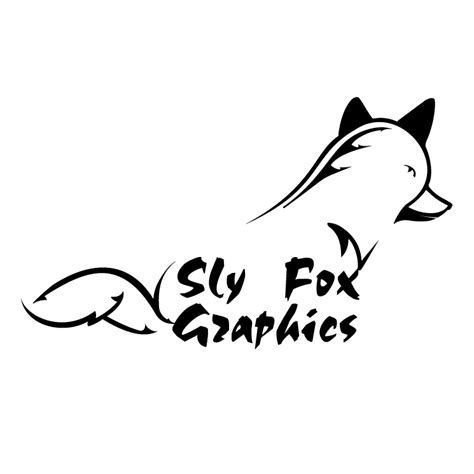 Wordmark of fox, the word fox possibly in john sans typeface. Sly fox graphics (30842) Free EPS, SVG Download / 4 Vector
