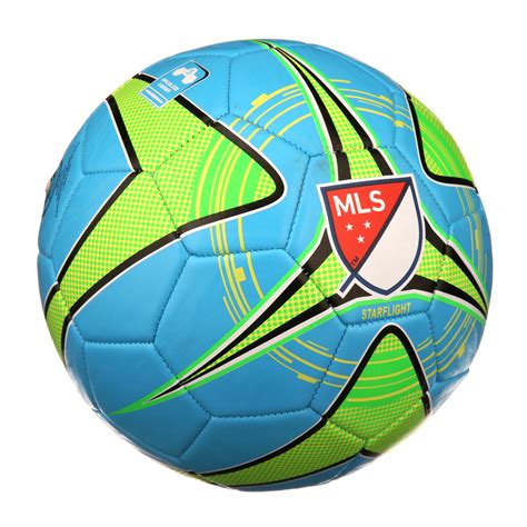 Franklin Sports MLS Soccer Ball, Size 5, Blue, Green and ...