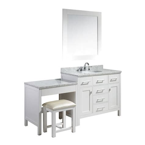 single sink bathroom vanity with makeup table best 25 bathroom makeup vanities ideas on