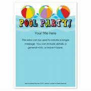 Pool Party Invitation Template Invite And Ecard Design Pool Party Invitations Swimming Party Birthday Party Editable Free Printable Party Invitations Summer Pool Party Invites Pool Party Invitations Free Printable Party