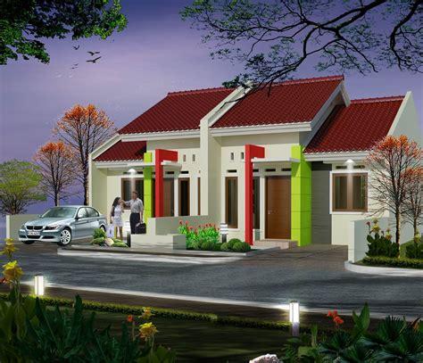 rumah cantik kecil mungil jasa desain rumah murah