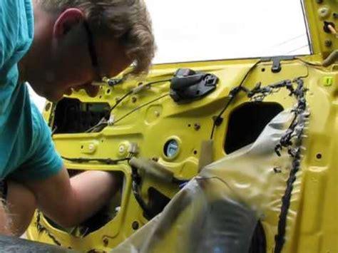 how to install window regulator motor 2002 mitsubishi lancer oz rally youtube