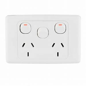 Deta Double Power Point With Extra Switch