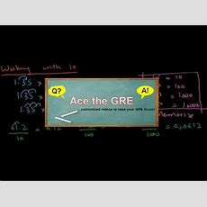 Gre Math Review Lesson 136  Basic Arithmetic That You