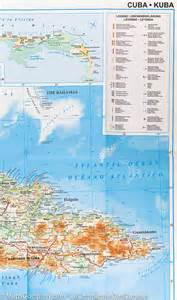 Cuba Geographical Map