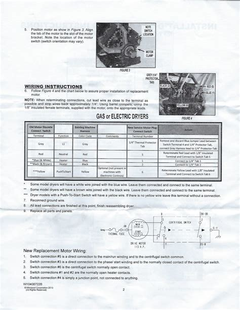 Maytag Dryer Motor Replacement
