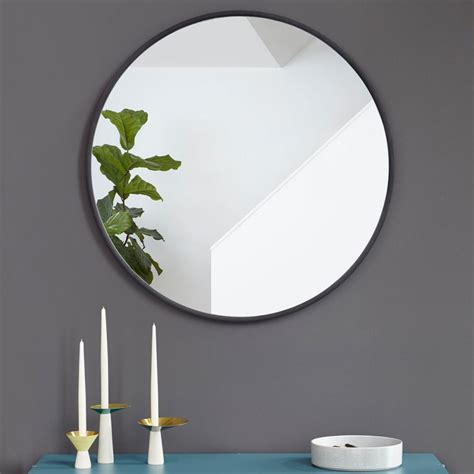 Grand Miroir Rond Grand Miroir Rond Grand Miroir Noir Design Hub Par Umbra
