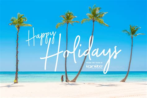 happy holidays header my holiday centre