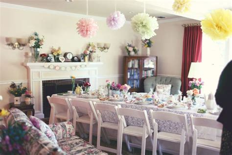 real bridal shower inspiration  loves  tea party