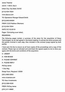 Cover Letter Examples Executive Fax Cover Letter Samples With Writing Guidelines