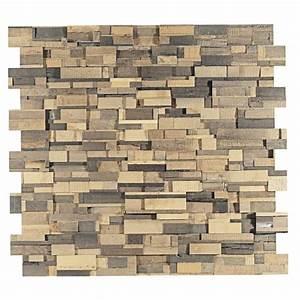 Panneau Bois Decoratif : panneau mural d coratif berlin en bois naturel ch ne ~ Teatrodelosmanantiales.com Idées de Décoration