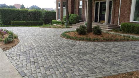 paver driveway driveways legacy custom pavers