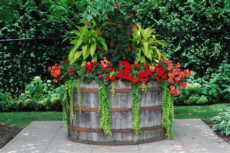 wine barrel planters top 10 creative ways to reuse wine barrels top inspired