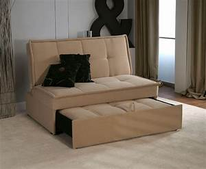 Santander 4ft beige upholstered sofa bed for 4 foot sofa bed