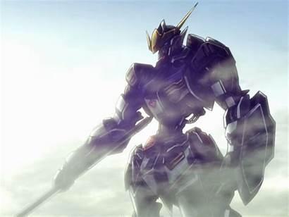 Gundam Orphans Blooded Iron Mobile Suit Background