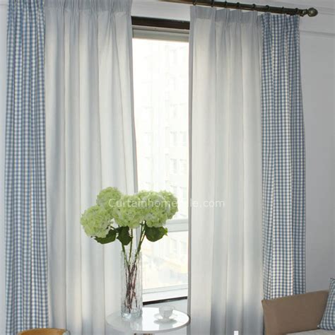 modern curtains for living room uk blue and white plaid panel curtains uk for living room