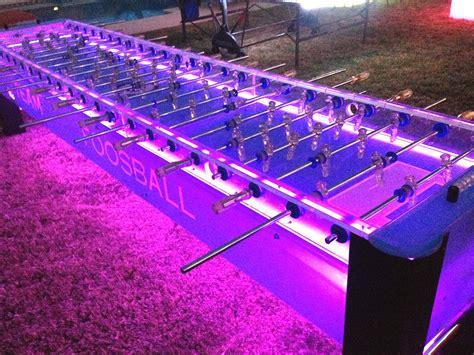 Lighted 12' Classic Team Foosball Table - AGR Las Vegas