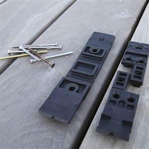 poser une terrasse en bois sur une dalle en beton blog With fixation lame de terrasse composite
