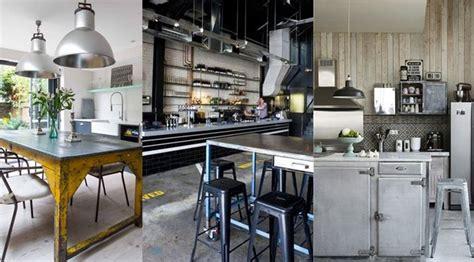 table cuisine style industriel revger com deco cuisine cagne industriel idée
