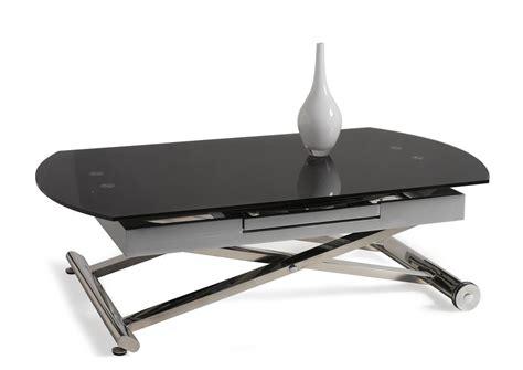 meuble cuisine modulable acheter votre table basse relevable et extensible dessus