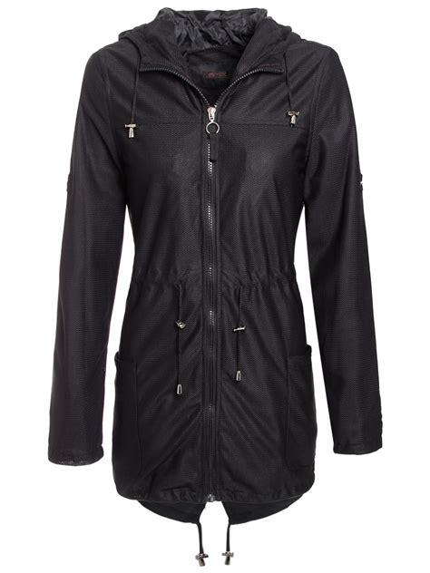 light jackets womens new womens mesh lightweight parka hooded jacket