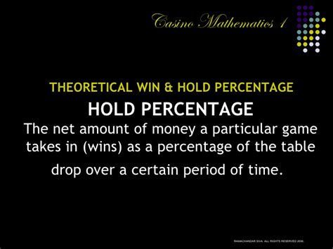 Introduction To Casino Mathematics