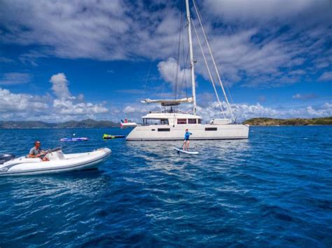 Catamaran Yacht Charters In Bvi top bvi crewed catamaran charter yachts
