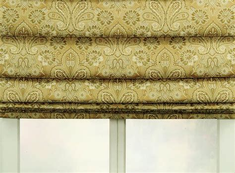 Hobbled Roman Shades  Soft Roman Shades Blindsshoppercom