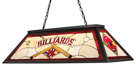 stained glass pool table light fixture elk lighting 70053 4 tiffany stained glass pool table light