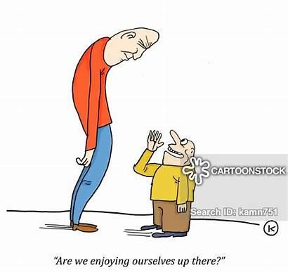 Short Cartoon Cartoons Funny Comics Tall Difference