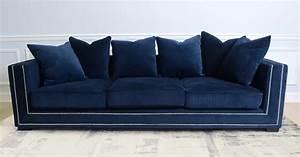 Blue velvet sofa canada wwwredglobalmxorg for Navy blue sectional sofa canada