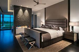 17, Contemporary, Bedrooms, With, Fireplace, Ideas
