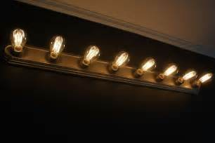 edison bulb vanity light rise and shine bathroom vanity lighting tips
